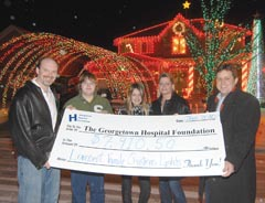 Bright idea nets hospital $7,910